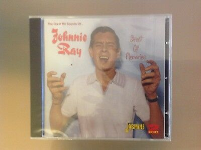 Johnnie Ray 2 Disc Cd - Street Of Memories - Brand New And Sealed • 6.99£