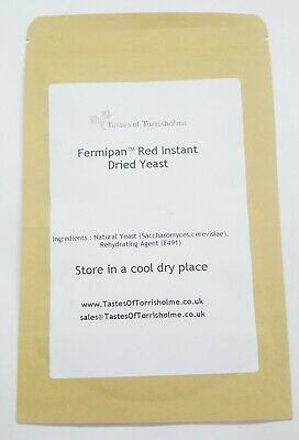 Fermipan Red High Activity Instant Dried Yeast For Bread Bakers Bakery • 4.75£