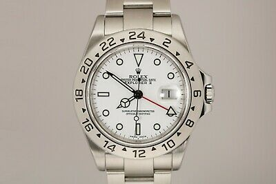 $ CDN9231.68 • Buy Rolex Explorer II 16570 White Dial Automatic Watch P Series Polar With Papers