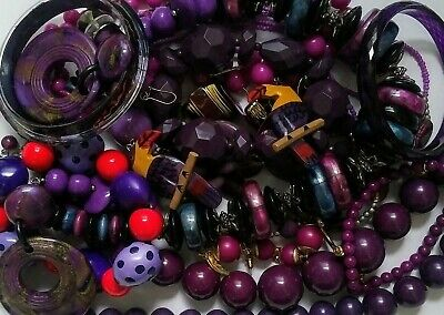 $ CDN14.99 • Buy Vintage To Now Jewelry Lot All Wearable Resell No Junk Retro Beaded Nice