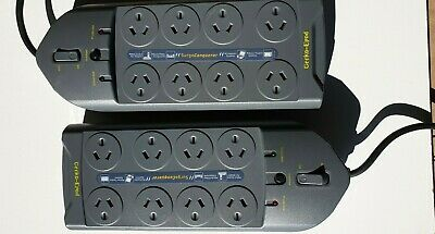 AU45 • Buy Power Board 8 Way Outlet Sockets W/ Surge Protector GPS-8