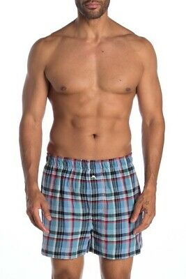 $25.20 • Buy Tommy Bahama Soft Island Washed Cotton Winter Flannel Woven Boxers - Plaid - XL
