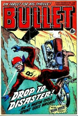 BULLET Comics On DVD Rom For PC ISSUES #1-147 • 1.99£