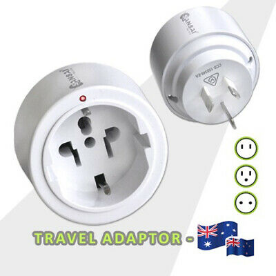 AU10.99 • Buy International Travel Adaptor From USA, Japan, Europe, Bali To Australia