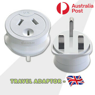 AU10.99 • Buy Travel Adaptor From Australia & New Zealand Travel To UK