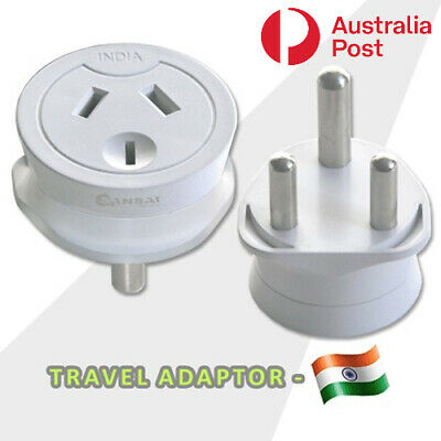 AU10.99 • Buy Travel Adaptor From Australia & New Zealand Travel To India