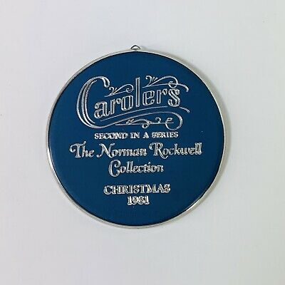 $ CDN15.80 • Buy Norman Rockwell Collection Carolers Christmas Ornament Dickens 1981 Vintage
