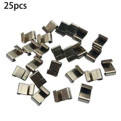 Stainless Steel Clips Greenhouse Glazing Accessories Parts Replace Fittings • 3.94£