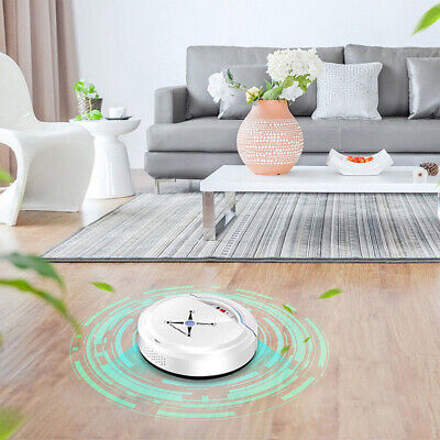 AU37.99 • Buy Rechargeable Automatic Smart Robot Vacuum Cleaner Edge Cleaning Suction Sweeper