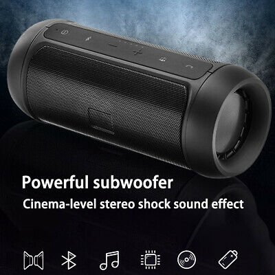 AU26.99 • Buy Wireless Bluetooth Speakers Portable Stereo Music Waterproof For IPhone Samsung