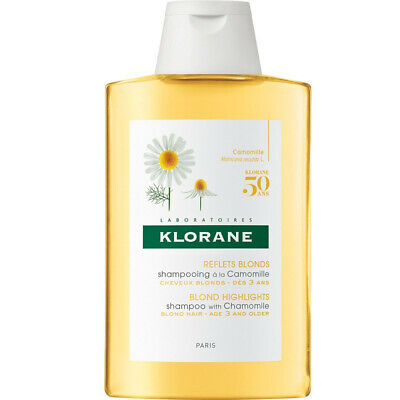 £9 • Buy Klorane Blond HIghlights Shampoo With Chamomile  (Age 3 And Older) 200ml