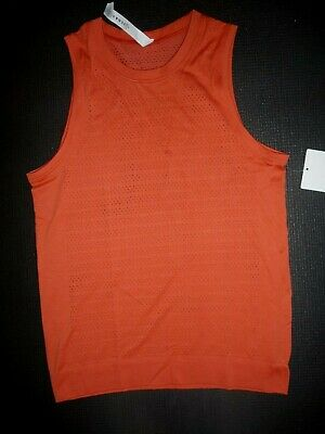 $ CDN69.98 • Buy Lululemon BREEZE BY MUSCLE TANK *SQUAD BRICK SIZE 4 NWT