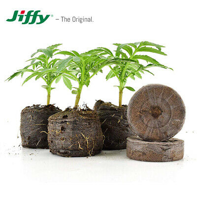 JIFFY-7 Peat Compost Plug Seed Starter Grow Propagation Hydro Pellets 41 X 42mm • 5.99£