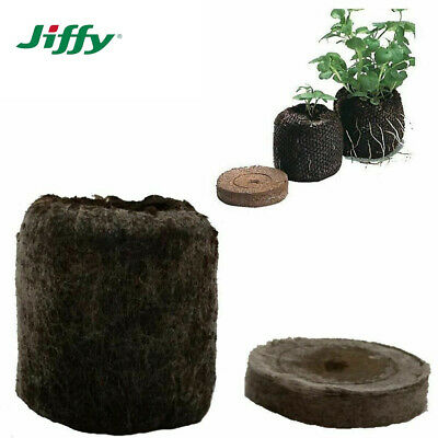 JIFFY-7 Peat Compost Plug Seed Starter Grow Propagation Pellets 41 X 42mm Hydro • 17.85£