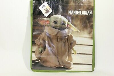 $6.36 • Buy Mandalorian Baby Yoda Grocery Reusable Bag Gift Bag Beach Bag Disney Star Wars
