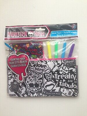Monster High Colour Me In Pencil Case  • 12£