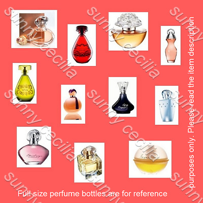 10 ~ ALL DIFFERENT ~ Avon Womens Perfume Samples EDP ❤ EDT Fragrance Vials~ SALE • 3.29£