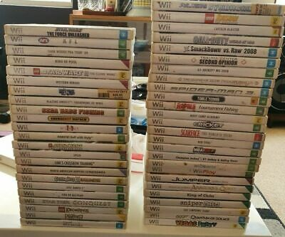 AU14.88 • Buy Nintendo Wii Games *Free Postage* Select From Drop Down Box Small List