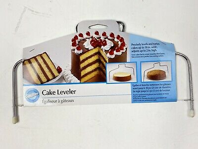 "Wilton Cake Leveler Small For Cakes And Tortes 10"" Wide 2"" High NEW • 6.04£"