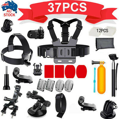 AU16.59 • Buy Accessories Pack Kit Head Chest Monopod Bike Surf Mount For GoPro Hero87 6 5 4 3
