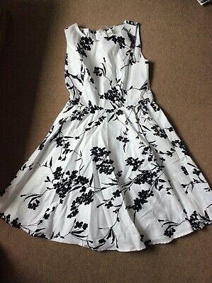 Grace Karin Dress Black And White Summer Dress Brand New  • 25£