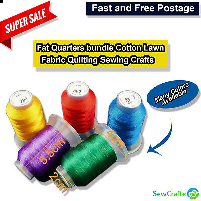 Overlocking Thread Polyester Industrial Sewing Machine - 5000 Yard ALL COLOURS • 4.50£