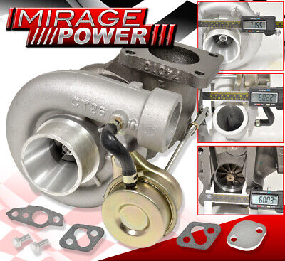 $ CDN264.95 • Buy For 86-92 Toyota Supra 3.0L 1G/2G 7Mgte Ct26 Bolt On Replacement Turbo Charger