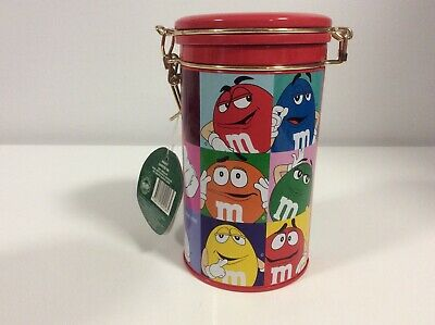 AU13.49 • Buy M&M's Red Tin Canister