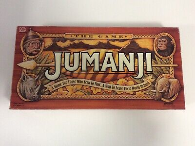 AU71.99 • Buy 1995 Board Game - Jumanji - 100% Complete