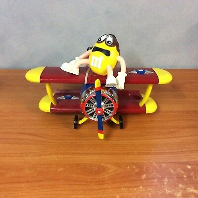 AU64.79 • Buy M&M's Airplane Barnstorming Rides Dispenser - Very Good Condition