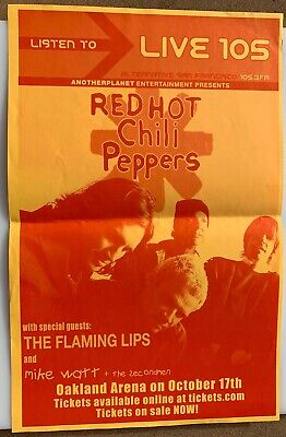 $24.99 • Buy Red Hot Chili Peppers / Flaming Lips Concert Poster - 200311 X17