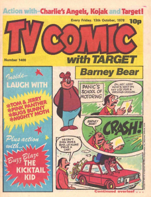 TV Comic 349 Issues Including Specials/Annuals On  PC-DVD   • 1.99£