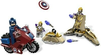 LEGO Marvel Super Heroes Captain America's Avenging Cycle (6865) Complete • 16.95£