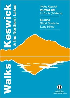 Walks Keswick And The Northern Lakes (Hallewell Pocket Walking Guides)-Richard H • 4.25£