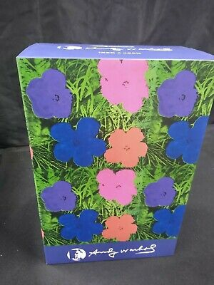 $245 • Buy Medicom Toys 400% Bearbrick Andy Warhol Flowers New In Hand