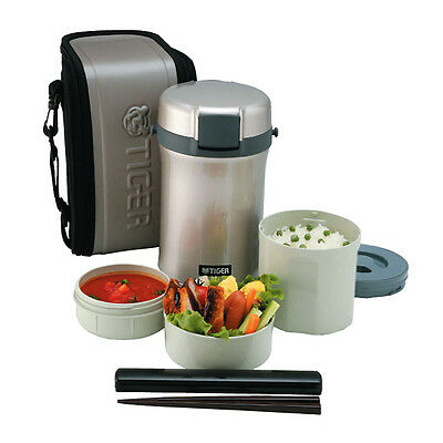 AU114 • Buy Tiger Stainless Steel Insulated Thermal Food Jar Thermos Lunch Box LWU-B170