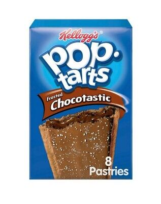 3x Kelloggs Pop Tarts - Chocolate - Have For Breakfast Or As A Snack • 13.50£