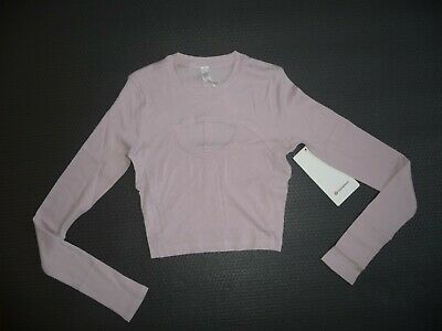 $ CDN76.54 • Buy Lululemon  LA BETTER BEST LONG SLEEVE PORCELAINE PINK SZ 6 NWT