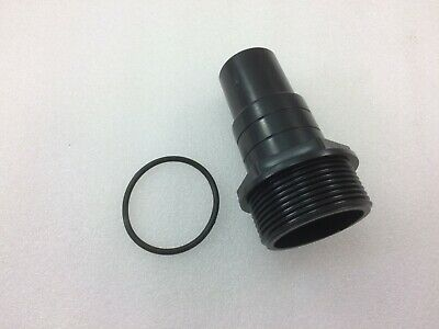 £13.99 • Buy Swimming Pool Pump Filter Hose Tail Connector 32mm & 38mm - 1.5  Bsp Standard