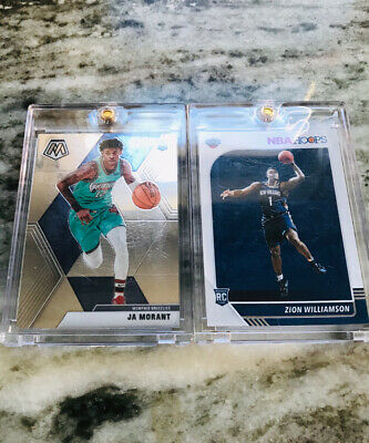 $19.99 • Buy JA MORANT AND ZION WILLIAMSON ROOKIE CARD CHASE!! (4 CARDS)   *Read Description*
