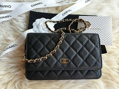 AU4550 • Buy Pickup $4000, Brand New Chanel WOC Black With New Closure