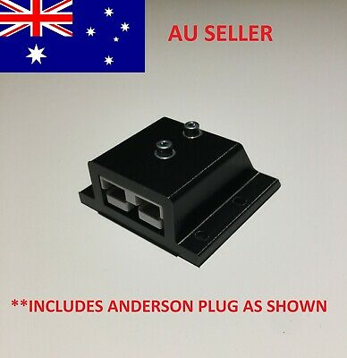 AU19.95 • Buy 50 Amp Anderson Plug Surface Mount Sealed Cover SB50 Black