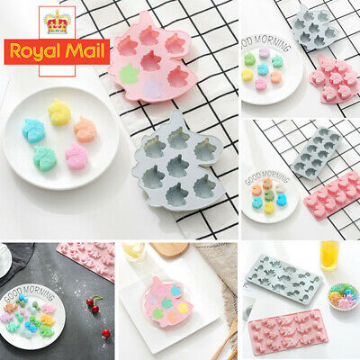£2.58 • Buy Halloween Baking Mould Cake Jelly Cookies Soap Mold Chocolate Tray Wax Ice Cube
