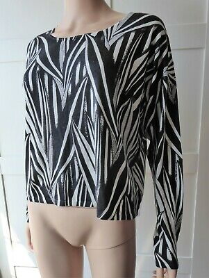 Eric Bompard Silk And Cashmere Slouchy Knit Lightweight Jumper Size Small  • 29.99£