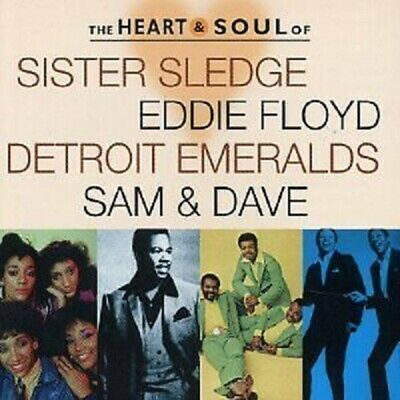 The Heart And Soul Of By Sister Sledge/Eddie Floyd/Sam And Dave/Detroit Emeralds • 6.99£