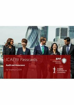ICAEW Audit And Assurance: Passcards By BPP Learning Media, NEW Book, FREE & FAS • 11.94£