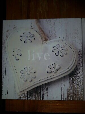 £10 • Buy Live Laugh Love Canvases