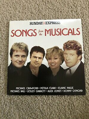 £1.75 • Buy Songs From The Musicals -  Sunday Express Promo CD