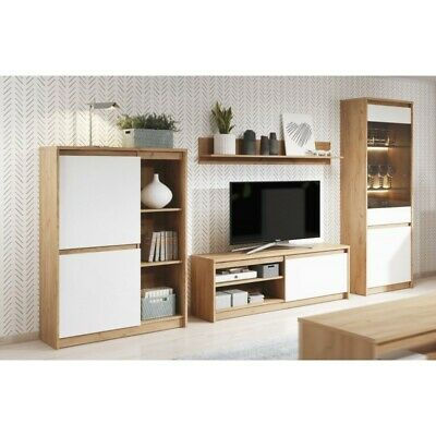 Living Room Furniture Set Tv Unit Display Stand Wall Mounted Cupboard Cabinet • 140£