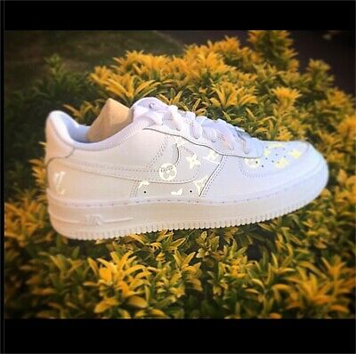 Nike Air Force 1 Reflective Custom Size 4 UK Available In All Sizes • 119.99£